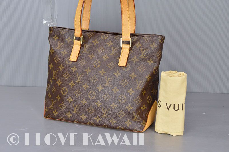 6672934a5eb6 Louis Vuitton Monogram Cabas Piano Shoulder Bag M51148