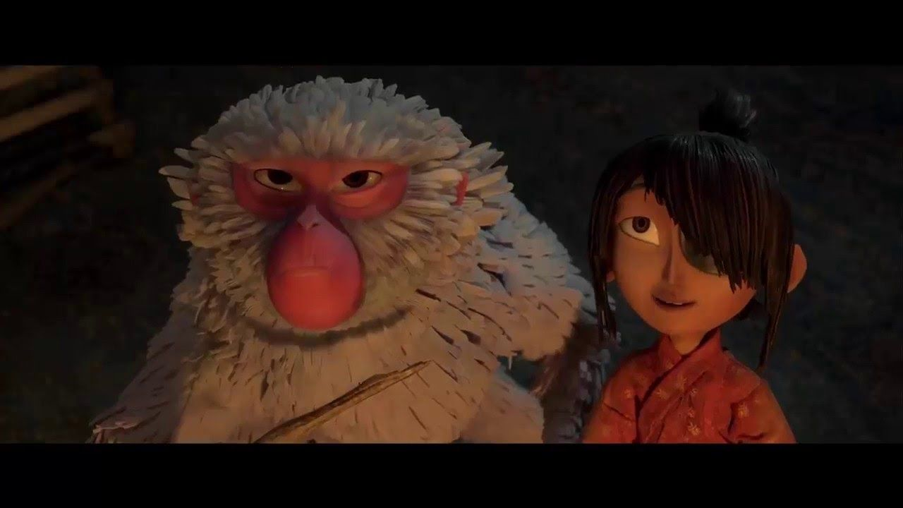 Kubo And The Two Strings Trailer While My Guitar Gently Weeps Edit Animation Official Trailer Stop Motion Trailer 2