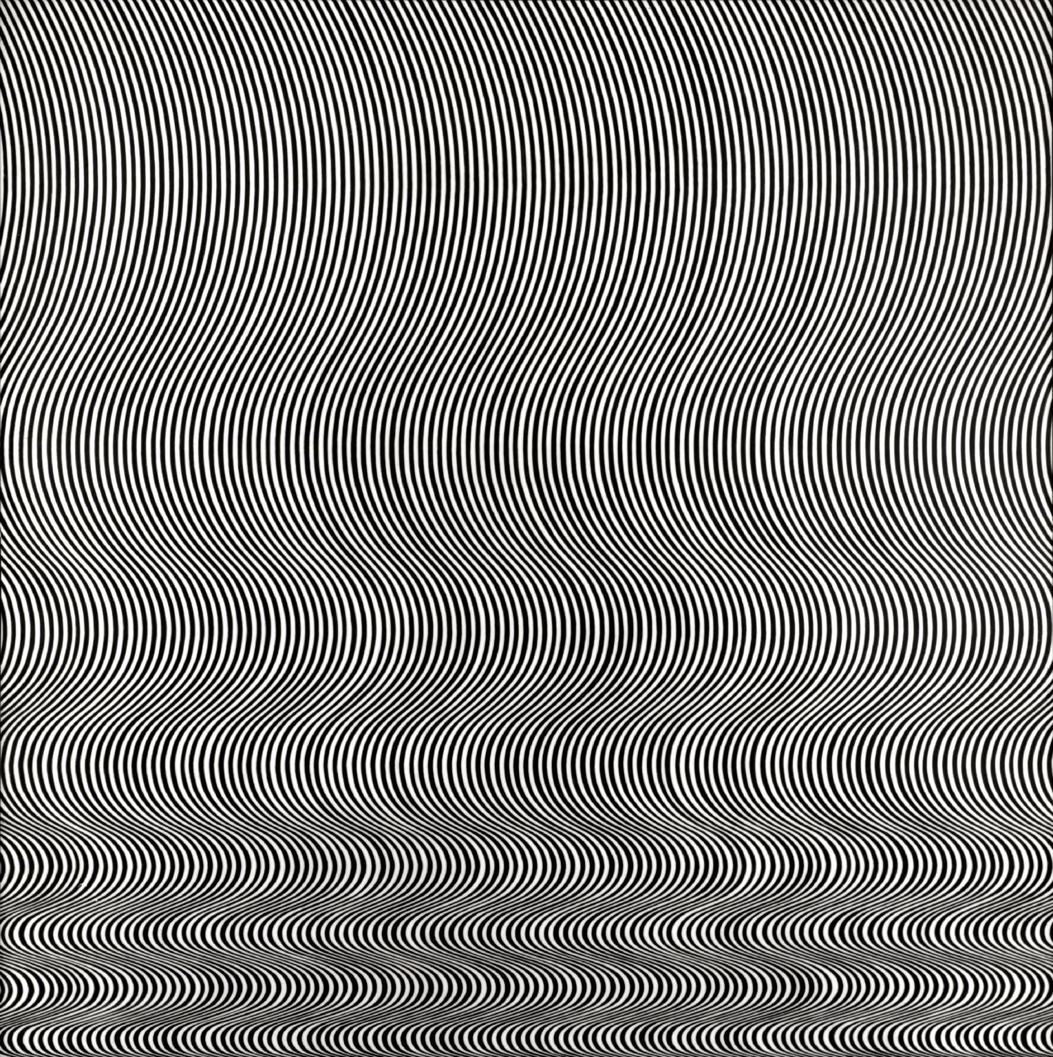Juxtapoz- Bridget Riley Op Art and geometric abstraction