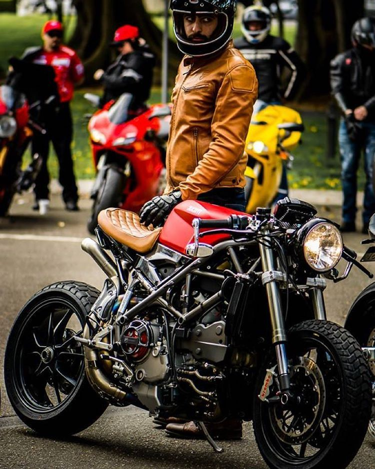 #Ducati 848 #caferacer by @nicothiermann,
