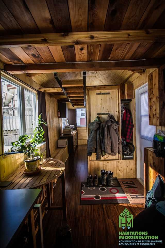 Habitations Microévolution Quebec Canada Tiny Houses In