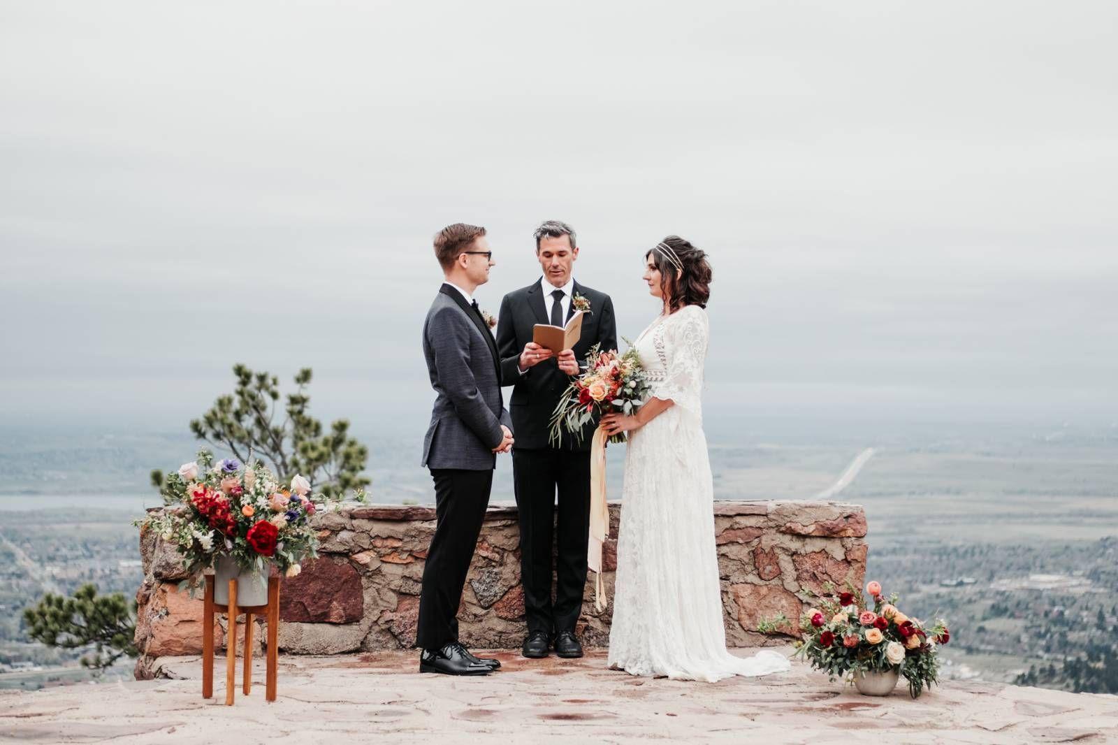 Sunrise Amphitheater Elopement Outdoor Wedding Outdoor Wedding Venues Romantic Outdoor Wedding