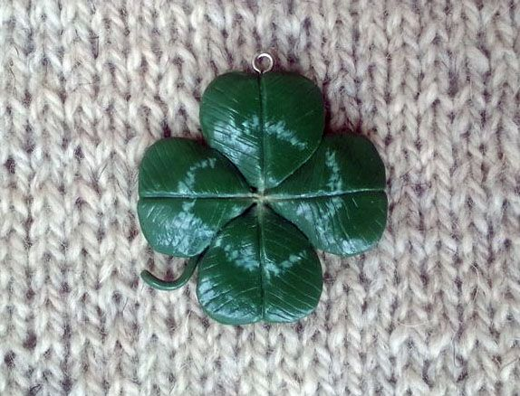 Somebody should be so lucky. Lucky clover