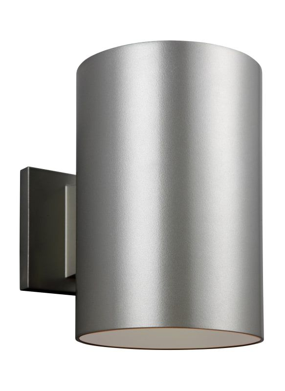 "Sea Gull Lighting 8313901EN Outdoor Cylinders Single Light 6"" Wide LED Outdoor W"