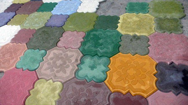Hormig n decorativo 1 design of my interior pinterest for Hormigon encerado sobre suelo de baldosas