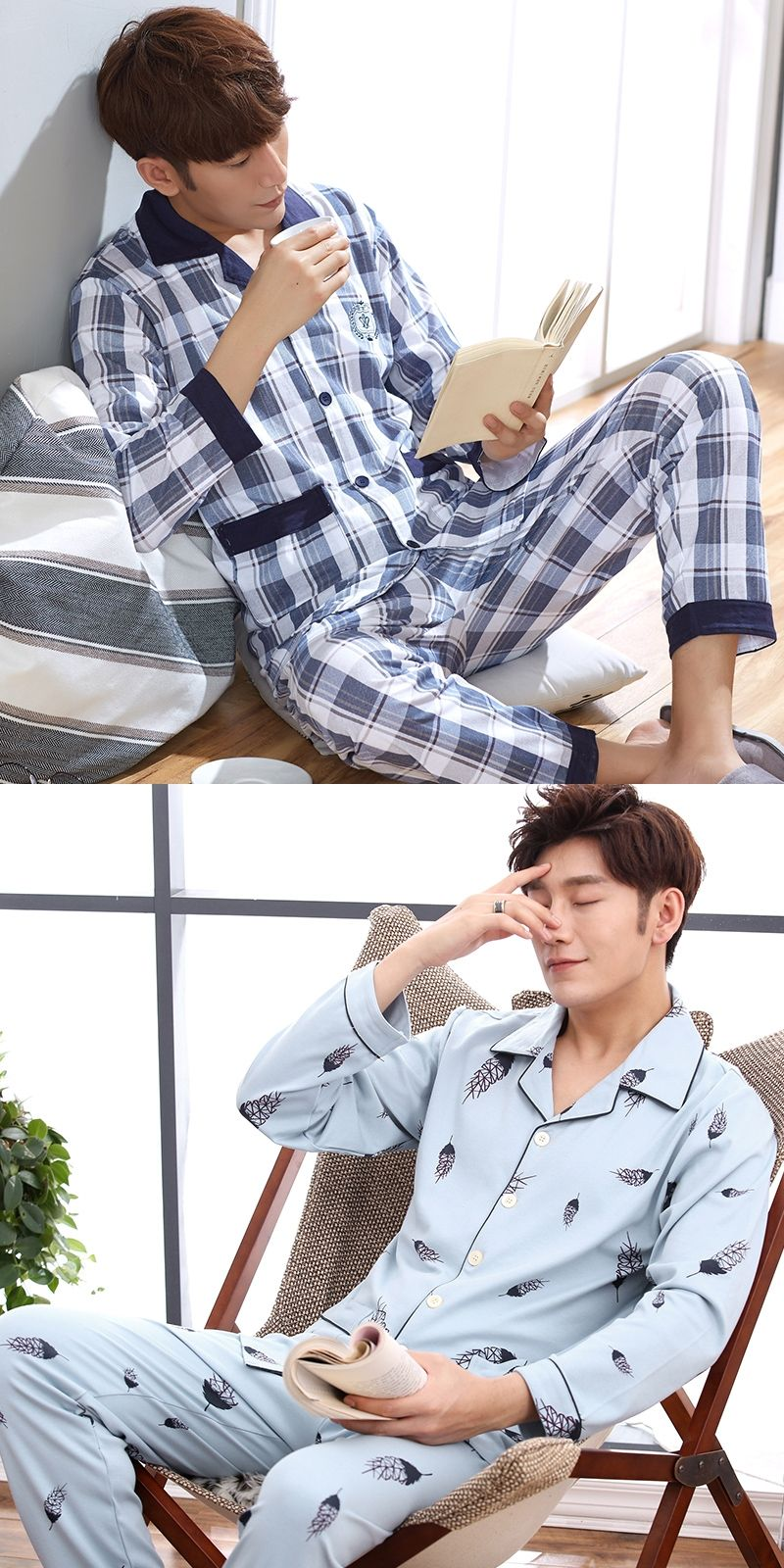 3d5b7852d5 2017 winter men s pajamas thickening warm flannel mens pyjama sets lounge  wear comfortable coral fleece male sleepwear homewear