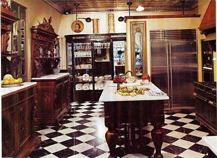My Writing Day Where It Went Victorian Kitchen Mansion Remodel