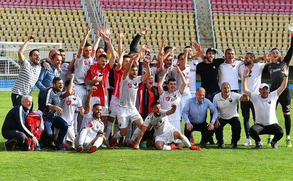 Fk Shkendija Clinches Title By Beating Fk Vardar In Skopje
