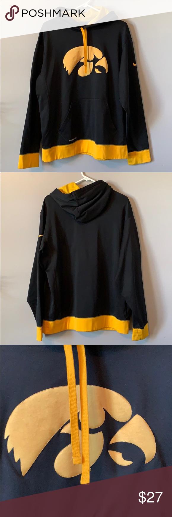 Nike Iowa Hawkeyes Sweatshirt Sweatshirts Yellow Sweatshirt Sweatshirt Shirt [ 1740 x 580 Pixel ]
