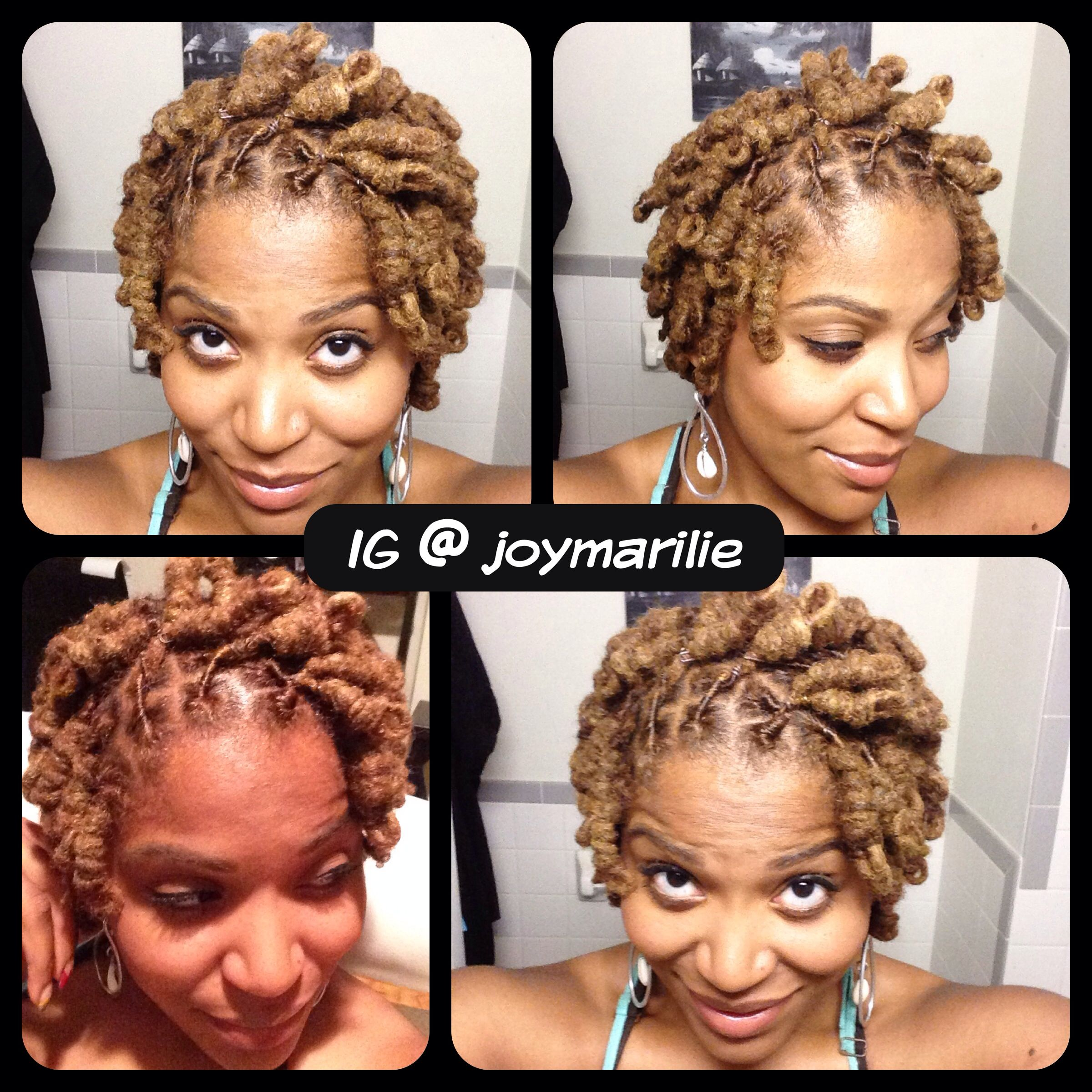 loc knots | my loc styles and experiments | natural hair