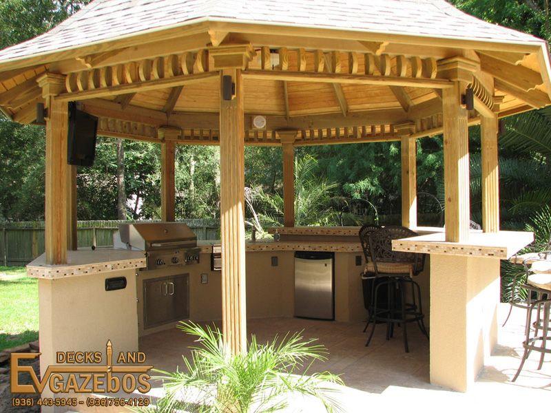 Lovely Outdoor Kitchen Gazebo   Google Search