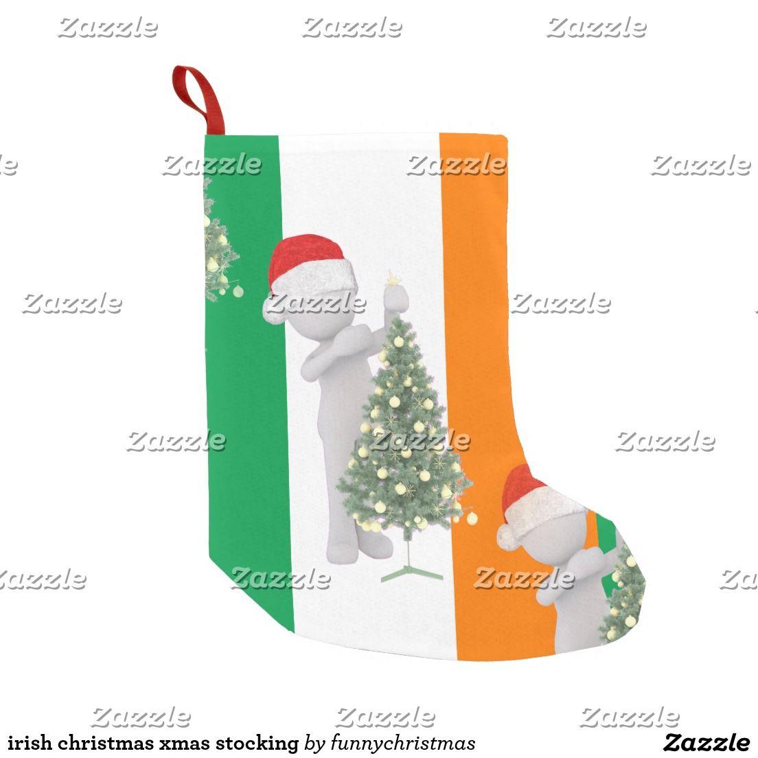 Irish christmas xmas stocking | Pinterest