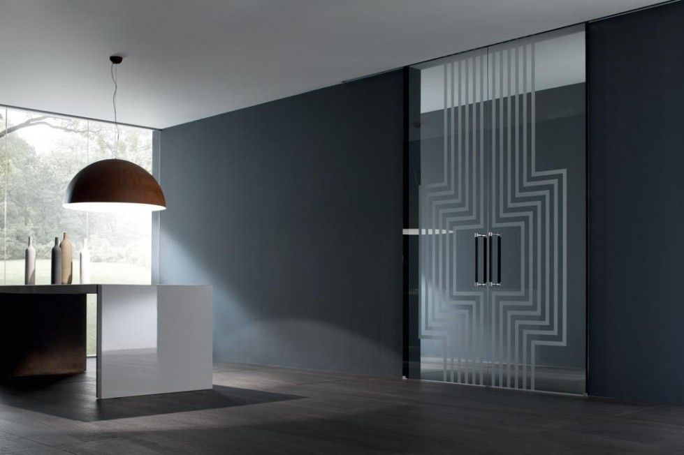 Porte in vetro moderne e di design   PORTE TUTTO VETRO - SBAM ...