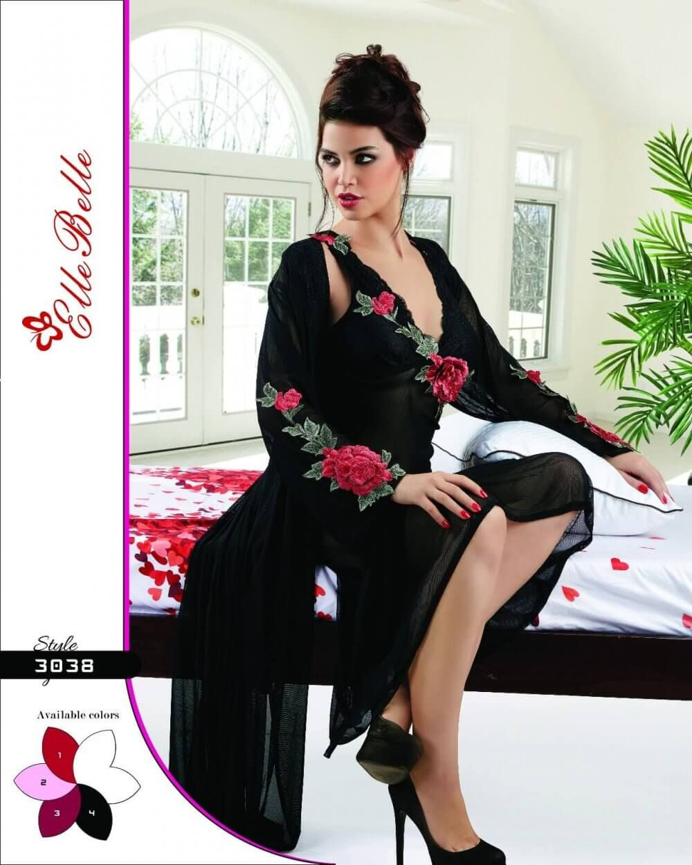 2-Piece Nighty-3038 - 2 Piece Nighty - Bridal Nighty - Nighty. Find this  Pin and more on Exclusive Nighty Collection ... a15114d01