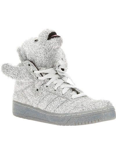 à vendre Footlocker rabais réel Hommes Ours D'or Adidas Espadrilles Jeremy Scott le moins cher g73FeR2