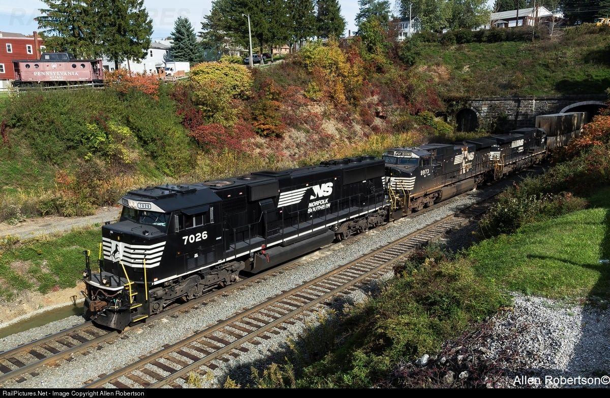 RailPictures.Net Photo: NS 7026 Norfolk Southern EMD SD60E at Gallitzin, Pennsylvania by Allen Robertson