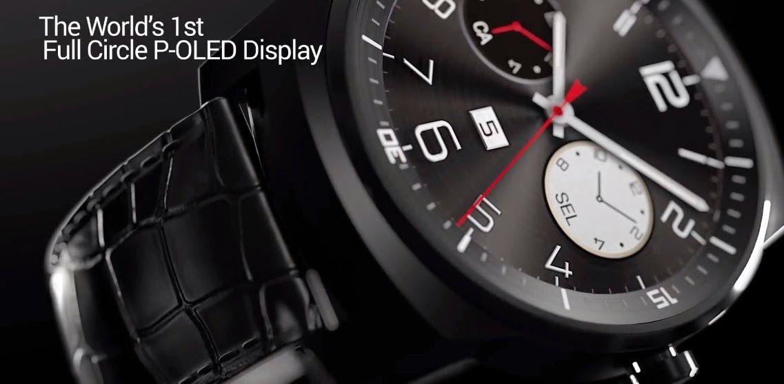 LG G Watch R   एंड्राइड स्मार्टफोन