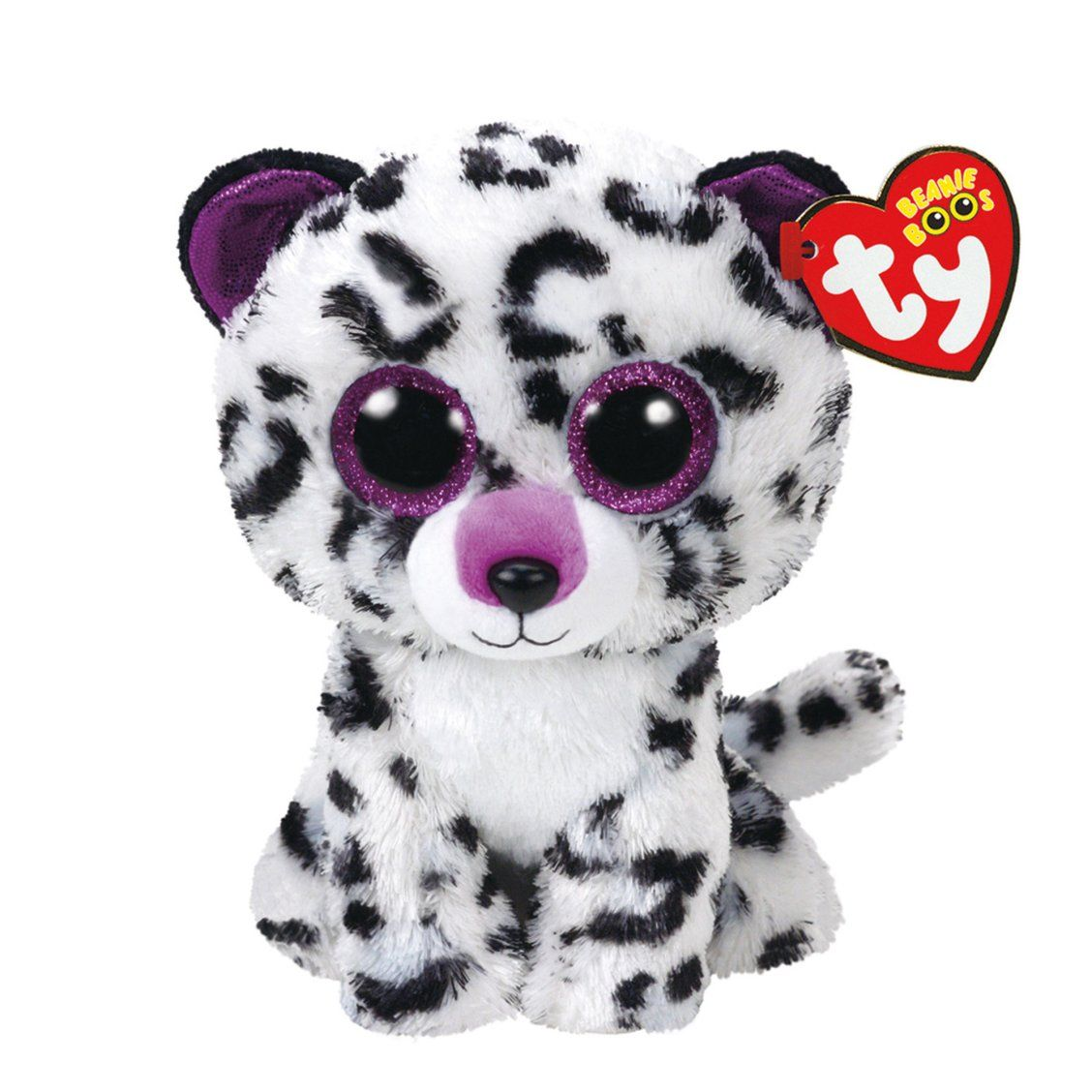 TY Beanie Boo Small Violet the Leopard Plush Toy  3c247233d328