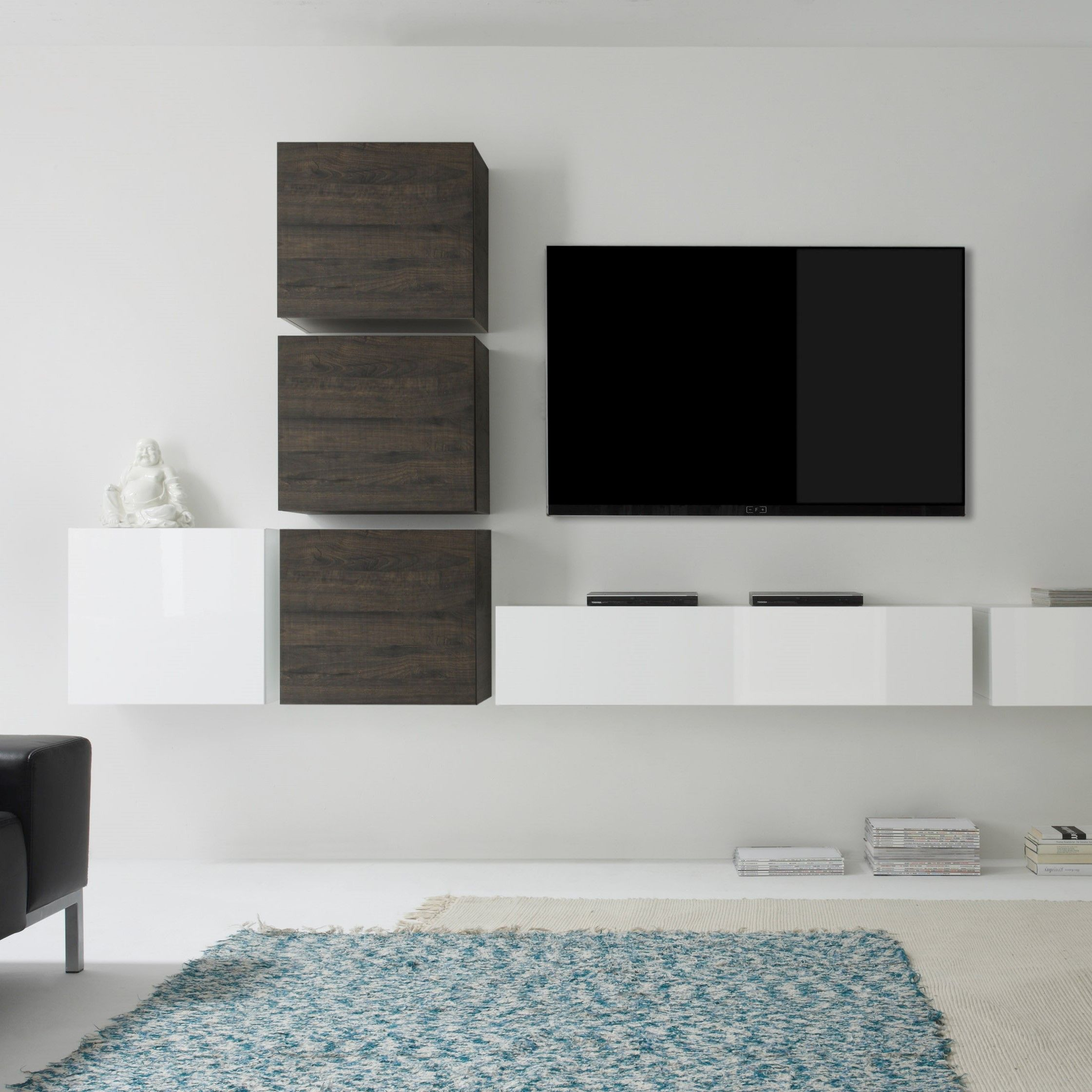 Wohnwand Italienisches Design Wohnwand Como Vii 6 Tlg In 2019 Living Rooms Tv Wall