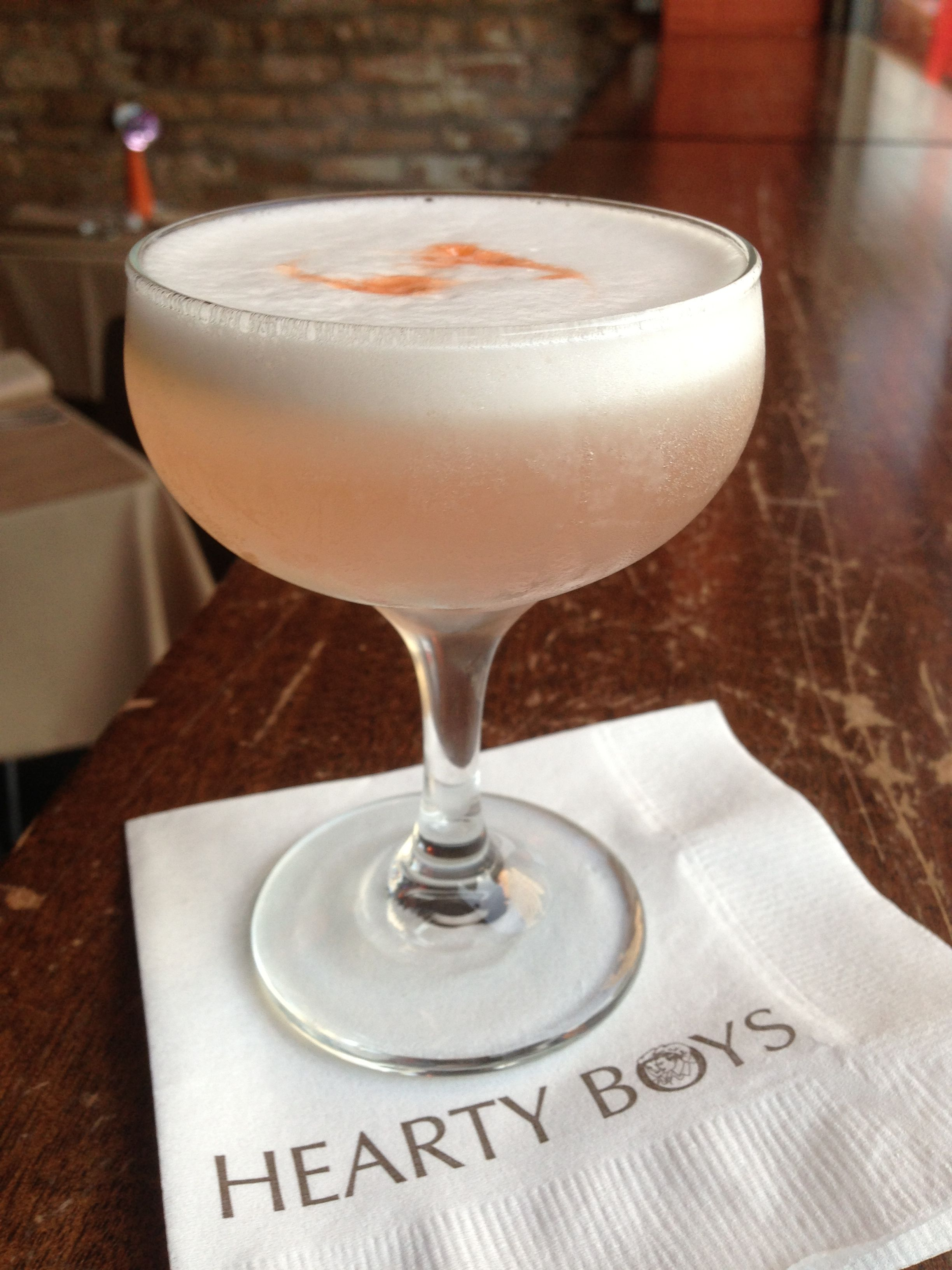 This week's #FarmToBar is a Rhubarb Pisco Sour. Good heavens its delicious. Come in and get one while you still can!