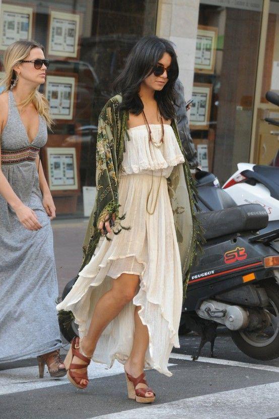 vanessa hudgens.style icon. | Dresses | Pinterest | Frühling, Sommer ...