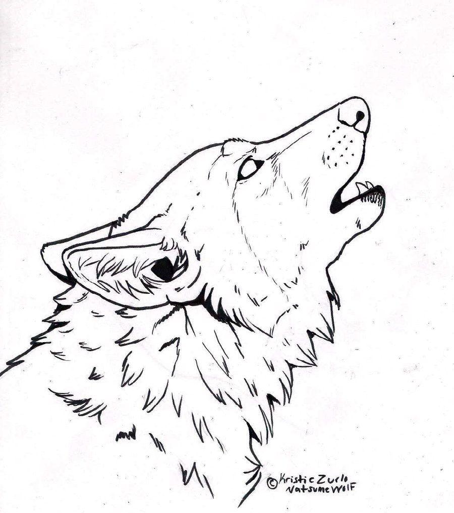 Pin Van Montzalee Wittmann Op Wolves Huilende Wolf Dieren Kleurplaten