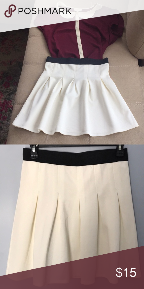 e14b0fe9a7 Urban Outfitters flared white skirt Urban Outfitters flared white skirt by  Coincidence and Chance. Never