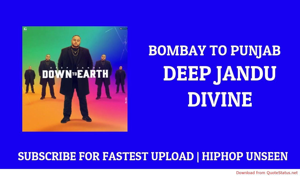 Bombay To Punjab Deep Jandu Divine Song Download Video Status Karan Aujla Mp3 Mp4 Status Download Songs Song Status News Songs