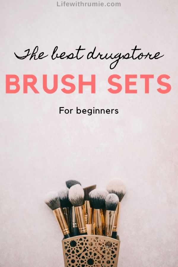 Are you looking for the best drugstore makeup brush sets that are affordable and good for beginners? Choose from these top 5. #makeupbrushes #makeupbrushesset #makeupbrushesguide #makeupbrushesforbeginners #brushset