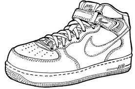 Image Result For Air Force One Shoe Clip Art