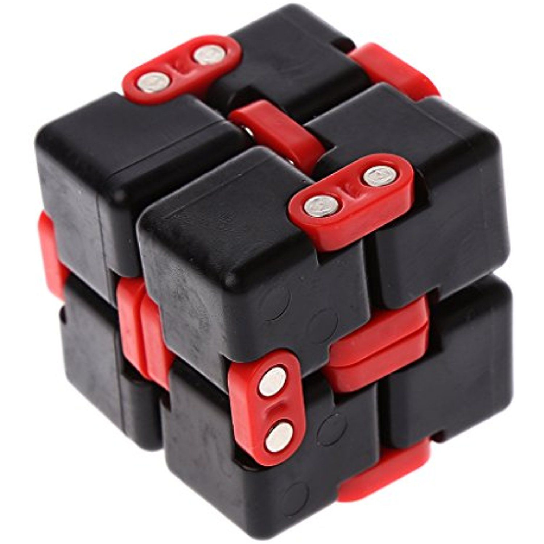 Hittech Mini Fidget Magic Infinite Cube Funny Handy Focus Desk