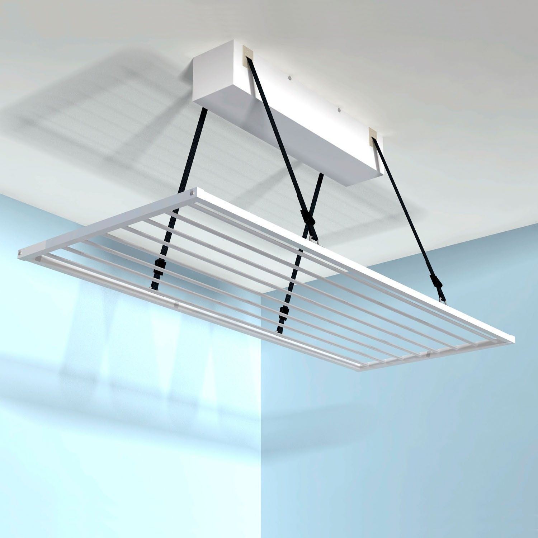 Tendedero de techo motorizado Tendermatic | Laundry, Laundry rooms ...