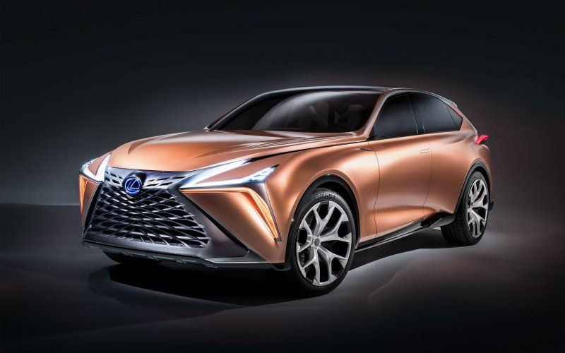 Lexus Lf 1 Limitless Front Luxury Car Luxury Crossovers