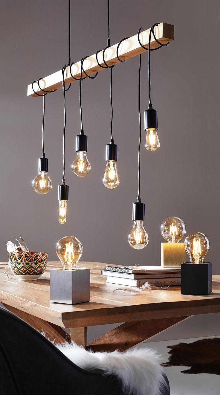 Hangeleuchte Hangeleuchte Metall Huis Verlichting Woonkamerverlichting Eettafel Verlichting