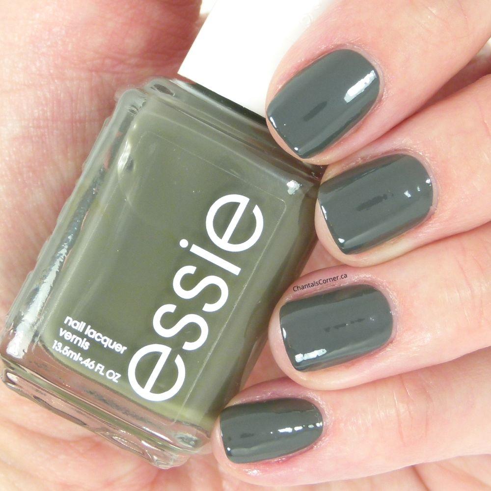 essie \'\'power clutch\'\' nail polish