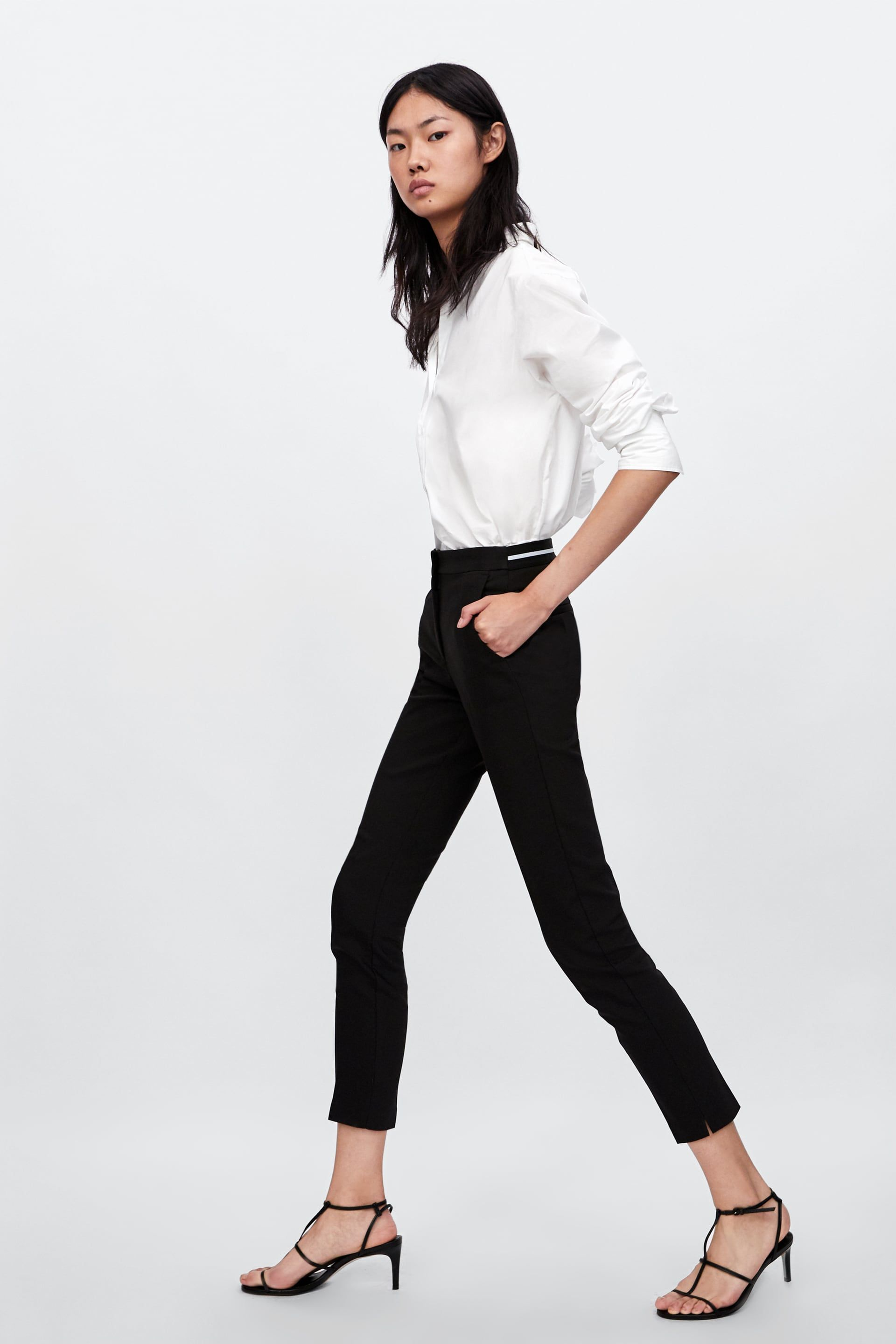 ce3765b2 Image 3 of JOGGER WAIST TROUSERS from Zara | work wear | Trousers ...