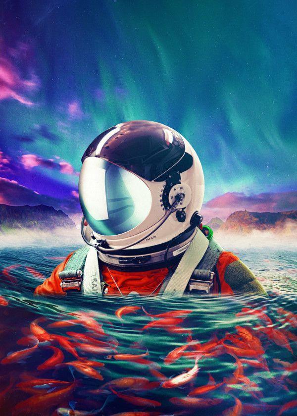 Belongingness Poster By Seam Less Displate In 2021 Astronaut Art Space Art Astronaut Wallpaper Cool astronaut wallpapers hd