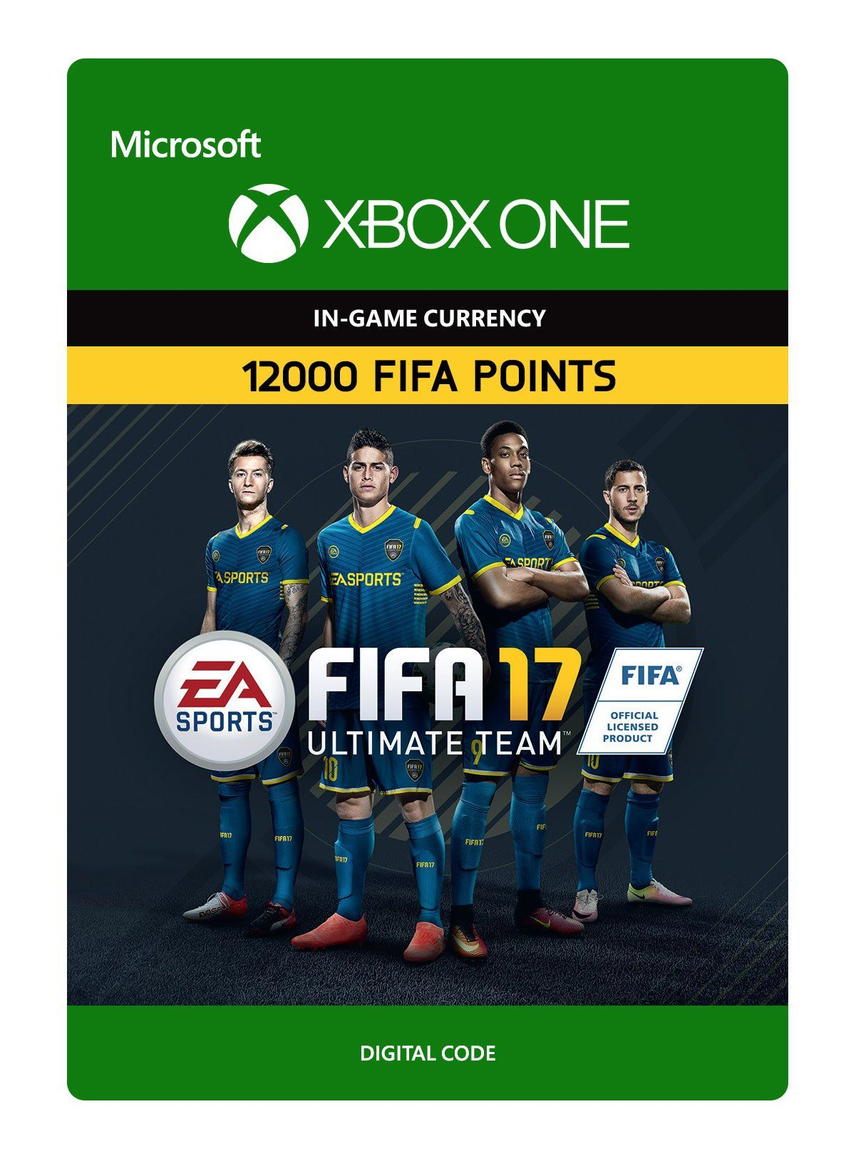 Fifa 17 Ultimate Team Fifa Points 12000 Xbox One Digital Code Want Added Details Click On The Photo This Is An Fifa 17 Ultimate Team Fifa 17 Xbox One