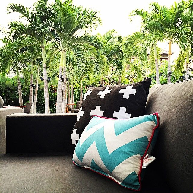 We are getting ready for summer! Loving our @kodyandko pillows ❤️ #houseofhuu #stylefile #pillows