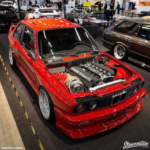 Bmw M3 Motor E30: 6cyl E30 M3 With A Big Turbo