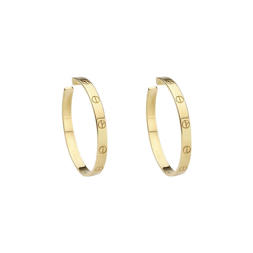 Cartier Hoop Earrings £2530