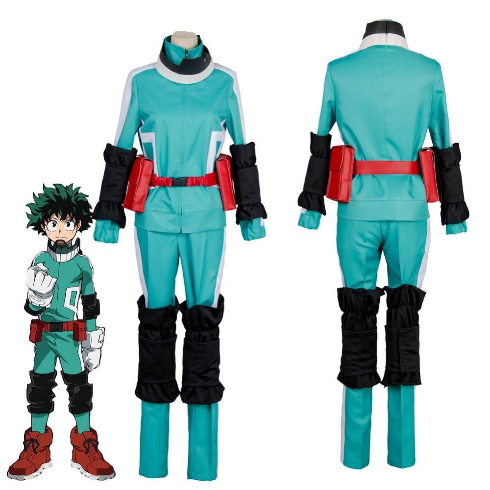 Click to Buy << My Hero Academia Cosplay Uniforms Boku no Hero Academia Izuku Midoriya Katsuki Bakug…   French street fashion, My hero academia, Cosplay costumes