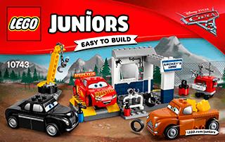Lego 10743 Smokey S Garage Lego Lego Building Instructions Lego Juniors