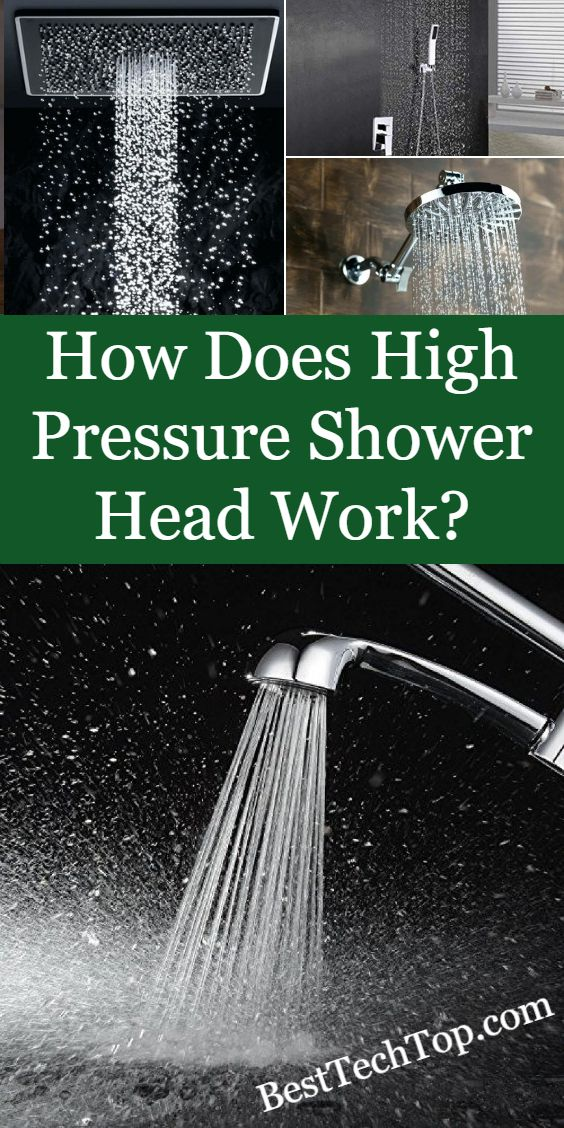 How Does High Pressure Shower Head Work Em 2020 Suvinil