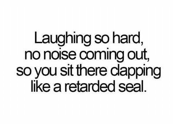 Laughter! The best medicine for anything!