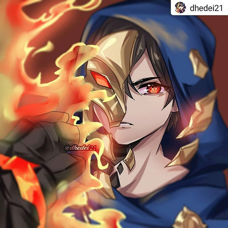 Mlbb Arts For Lyfe On Instagram Repost Cr To Dhedei21 Art Not Mine Follow Dhed In 2020 Mobile Legend Wallpaper Mobile Legends Alucard Mobile Legends