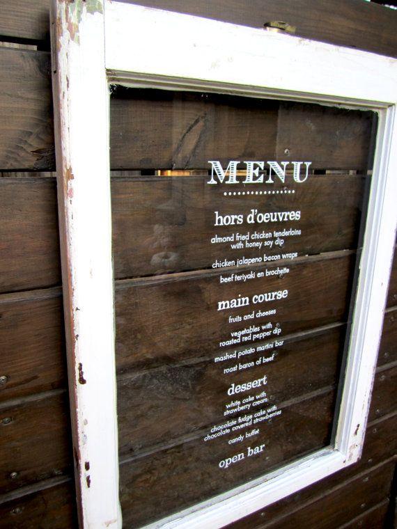 pour afficher au kiosque pr sentoirs pinterest menus decoration restaurant et signal tique. Black Bedroom Furniture Sets. Home Design Ideas