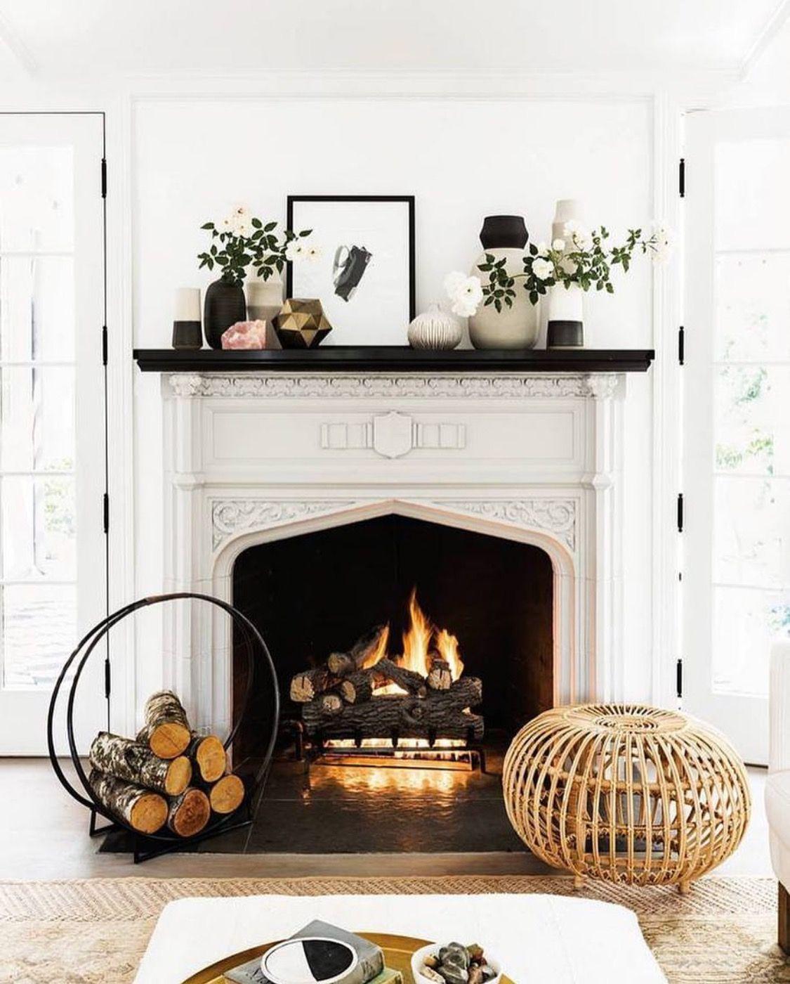 9 Ways To Make Your Home Extra Cozy Hygge Style Fireplace