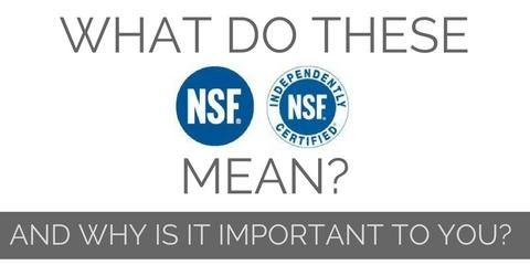 What Does The NSF Stamp Mean U0026 Why Is It Important To You? Kitchen  EquipmentDeanStampHealthBlogRestaurantsDinersCooking ...