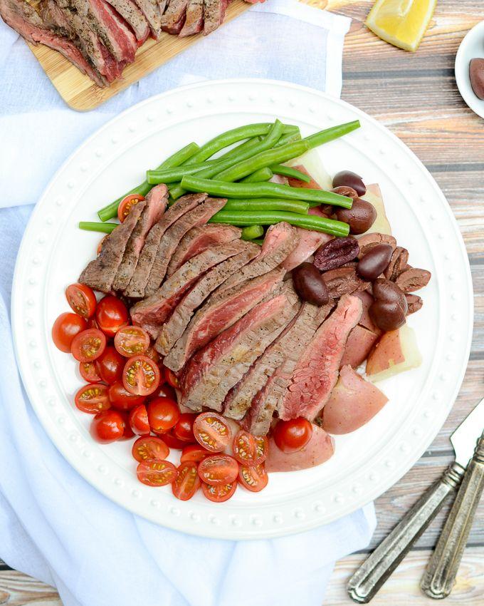 Image result for steak nicoise